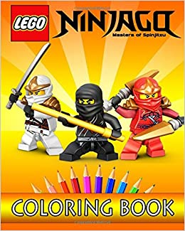 LEGO NINJAGO Movie Coloring Book For Kids Lego Cartoons 9781544020440 Amazon Books