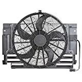 Bernard Bertha AC Condenser Thermo Fan for BMW X5 E53 Off-road Vehicle 4.8N 62 265 (360) Petrol 2004 2005 2006 64546921381