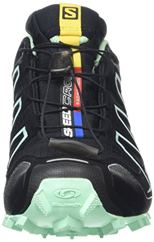 Compétition F Chaussures Blue Teal Running 3 Lucite Green Speedcross de Femme Salomon Noir Black HPTXqw