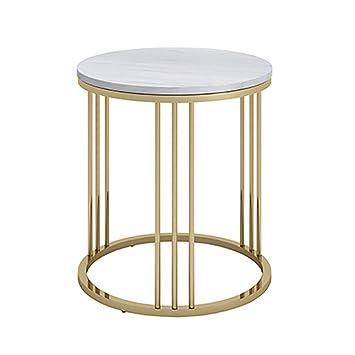 Mobilier de jardin QYSZYG Table Basse en marbre Simple ...
