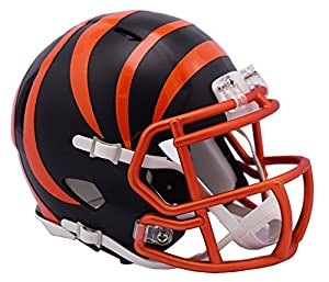 NFL Cincinnati Bengals Alternate Blaze Speed Mini Helmet