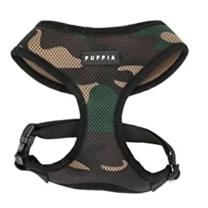 Puppia Soft Dog Harness, Camouflage, X-Large