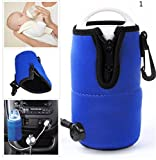 in car water heater - OKOKMALL US--Portable 12V in Car Auto Travel Baby Food Milk Water Bottle Cup Warmer Heater GT