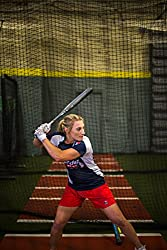 "Easton Women's Fast Pitch Ghost Double 10 Barrel Softball Bat, 32""22 Oz"