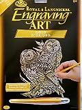 ENGRAVING ART ART KITS 3 SETS FOIL GOLD COPPER GREAT GIFT IDEA