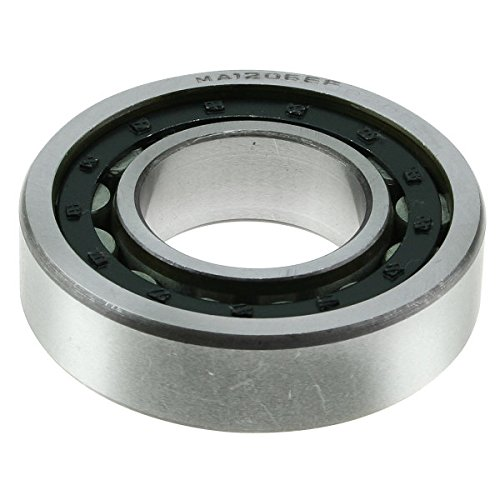 WJB WBMA1206EF - Rear Wheel Cylindrical Roller Bearing - Cross Reference: National MA1206EF/ Timken MA1206EF/ SKF MA1206-UV, 1 Pack