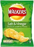 Walkers Crisps Salt and Vinegar 32.5 g (Pack of 48)