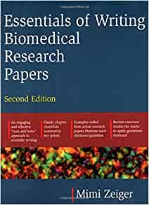 Amazon Com Essentials Of Writing Biomedical Research