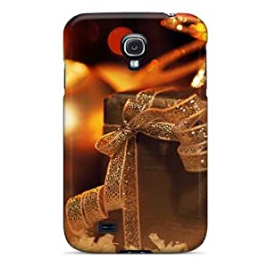 High Quality RGQnI9982jOoAi Golden Candle Holidays Tpu Case For Galaxy S4