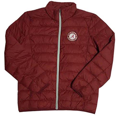 NCAA University of Alabama Crimson Tide Skybox Full Zip Packable Jacke