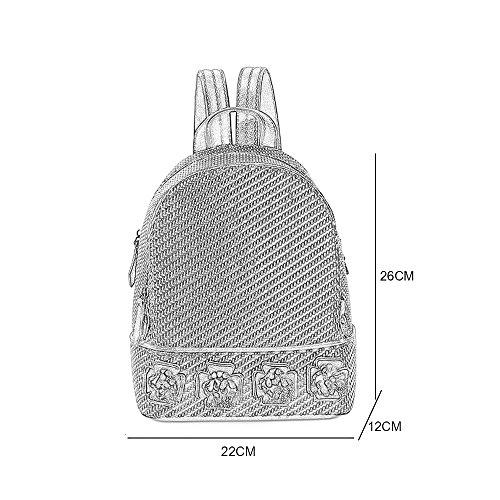 Formato Mini Zaino  Del Femminile Moda Spalla Di Tessuto Cm Sacchetto 26 Coreano Donna Nuovo 22 Versione Singolo Dec Paglia Casual 2017 aaqBp