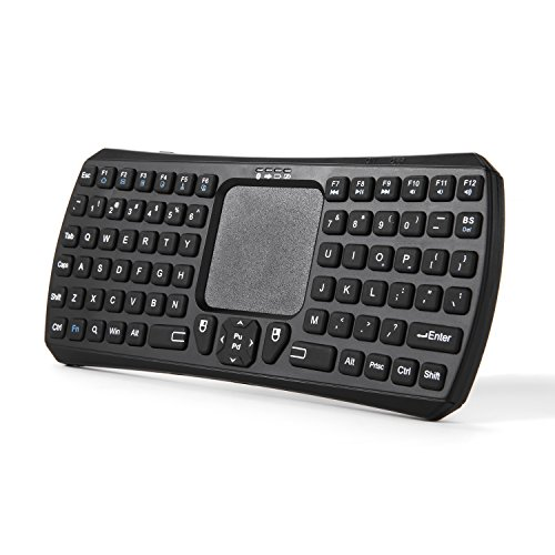 1. Jelly Comb Mini Wireless Handheld Remote Control Bluetooth 3.0 Touchpad Keyboard for Smart TV