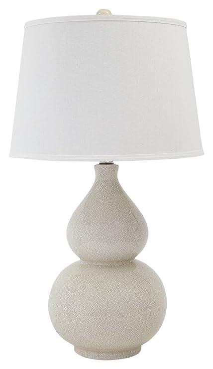 Amazon.com: Saffi lámpara de mesa de cerámica: Home & Kitchen