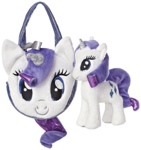 Little Pony Purse (Aurora World My Little Pony Rarity Pony Tail Carrier)