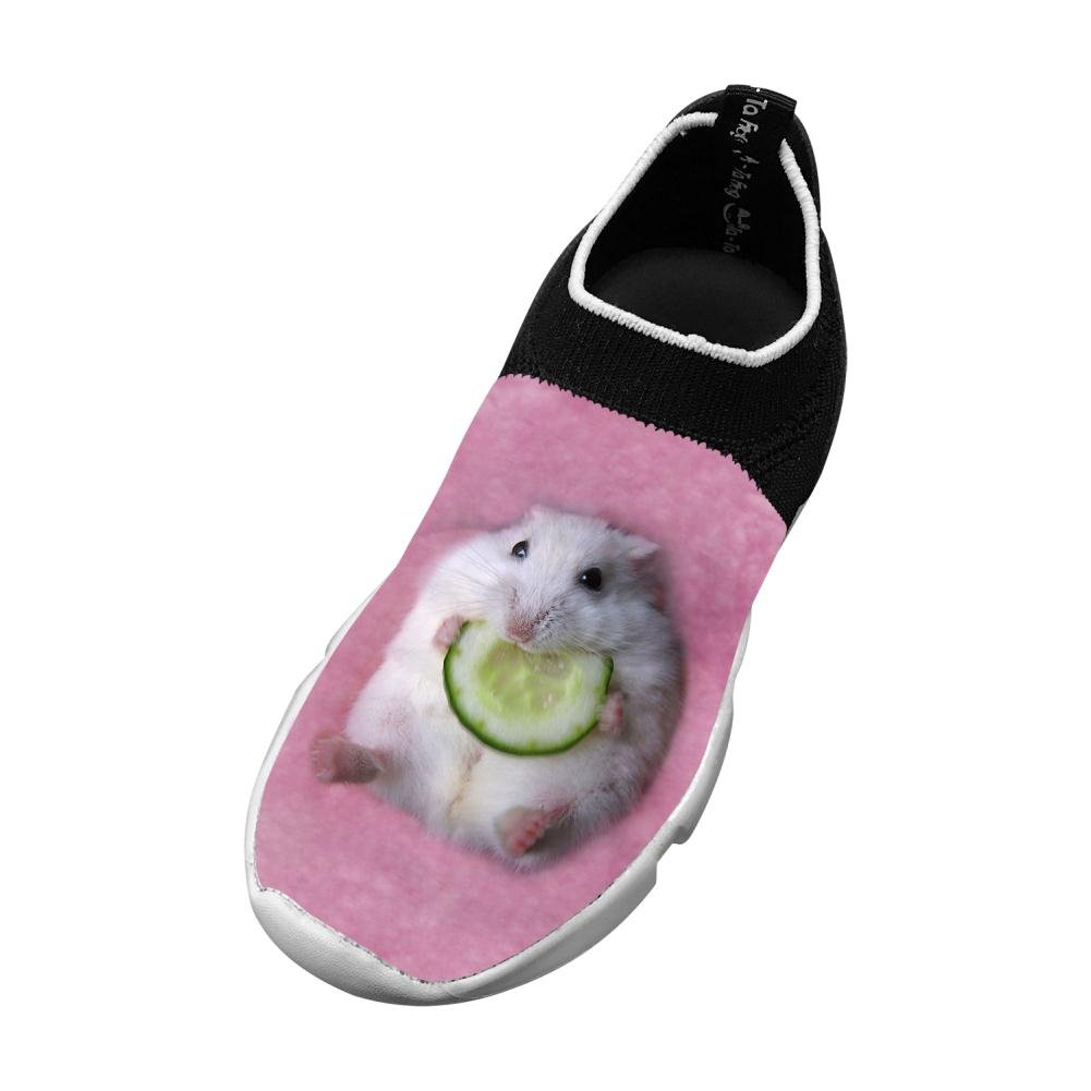 Hamster New Love Flywire Knitting 3D Printing Sneaker For Boys Girls