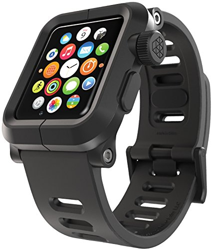 (LUNATIK EPIK Polycarbonate Case and Silicone Strap for Apple Watch Series 1,)