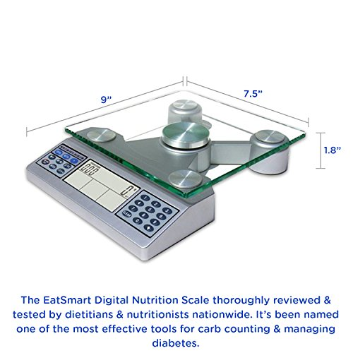 Eatsmart digital nutrition scale professional food and for Professional food scale
