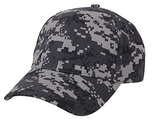 - Rothco Camo Supreme Low Profile Cap, Subdued Urban Digital Camo