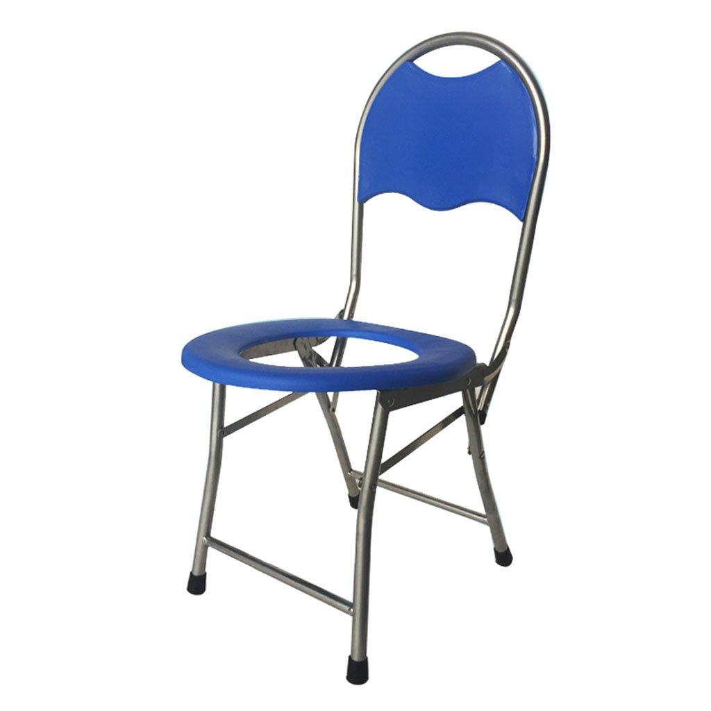 ポータブル折りたたみトイレシート妊娠中の女性老人患者トイレモバイルトイレ椅子 B07CXKCP5K