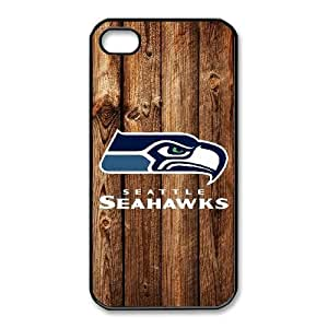 iPhone 4,4S Phone Cases NFL Seattle Seahawks Cell Phone Case TYF678106