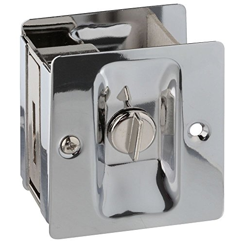 26-298 V1951 Pocket Door Latch in Chrome ()