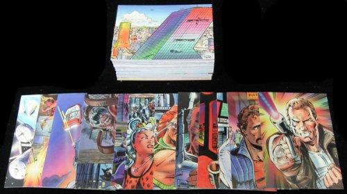 (1993 Cardz William Shatners' Tek World Trading Card Set (100) NM/MT)