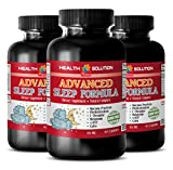 Product review for anti-aging powder - ADVANCED SLEEP FORMULA 952MG - brain booster focus - 3 Bottles (180 Capsules)