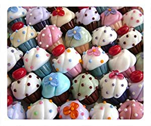 Cupcakes Fashion Masterpiece Limited Design Oblong Mouse Pad by Cases & Mousepads