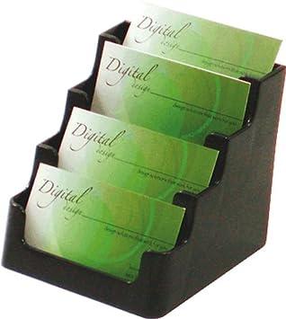 Deflecto Visitenkartenhalter De70404 Bis 4 X 60 Karten 4