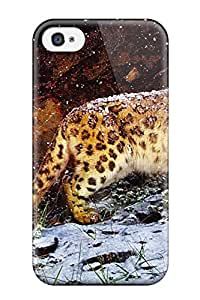 Jonathan Jo. Marks's Shop Hot Case Cover Snow Leopard Flurries Iphone 4/4s Protective Case
