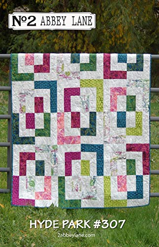 Hyde Park Quilt Pattern by Abbey Lane Quilts #307 60