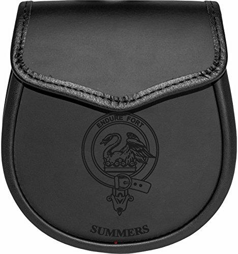 Summers Leather Day Sporran Scottish Clan Crest