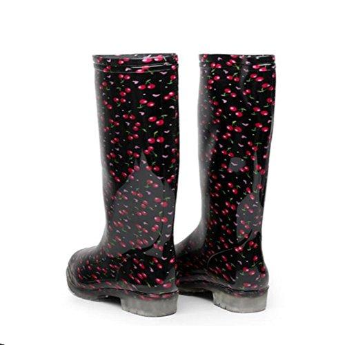 otoño alto chanclos los amp;JAXIE del y primavera en lluvia los zapatos botas de zapatos lluvia de de del de Las del señoras las la las 2 botas del Y lavado tubo de de agua túnel OwS1q41
