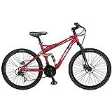 Best Dual Suspension Mountain Bikes - Mongoose Stasis Comp 26-Inch Full Suspension Mountain Bicycle Review