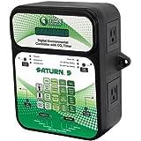 Titan Controls 702851 Saturn 5 Digital Environmental Controller with Carbon Dioxide Gas Timer