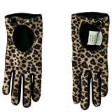 Women's Cheetah Print Glove - Cheetah Black OSFM