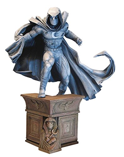 Diamond Select Toys Marvel Premier Collection: Moon Knight Resin Statue (Resin Figure Statue Anime)