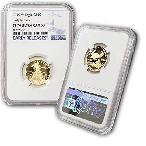 2019 W American Gold Eagle $10 PF70UCAM NGC Early Releases (Gold Eagle Early Releases)