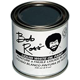 Martin/ F. Weber Bob Ross 236-Ml Oil Paint, Liquid White