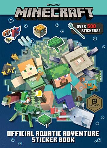 Minecraft Official Aquatic Adventure Sticker Book (Minecraft) (Minecraft Stickers)