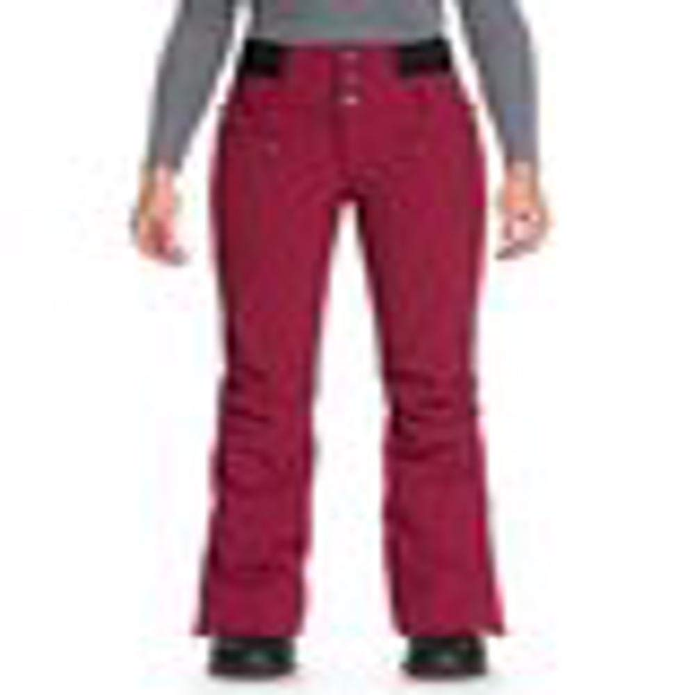 Roxy Women's Rising High 15K Snow Pants Beet Red Small by Roxy