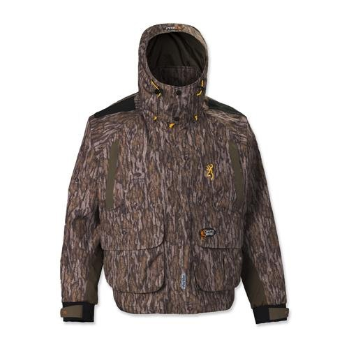 Browning Dirty Bird Timber Wader Jacket, Mossy Oak Bottomlands, X-Large