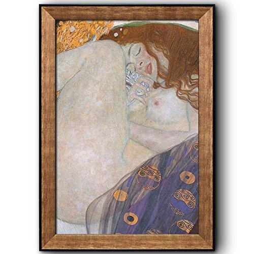 Danae by Gustav Klimt Framed Art