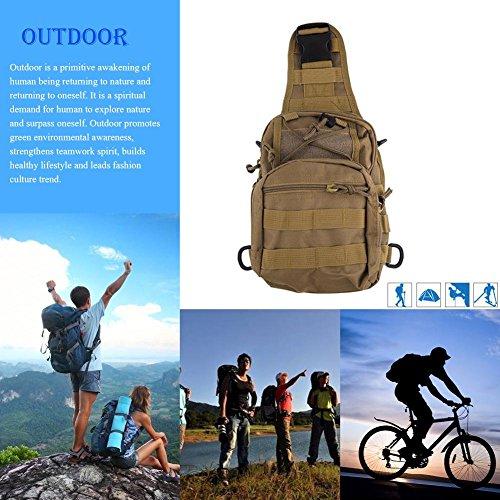 Waterproof Crossbody Bag Outdoor Unisex Travel Shoulder 6 Pack Multicolor Widewing URwqpF