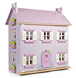 Le Toy Van Wooden Lavender Doll's House