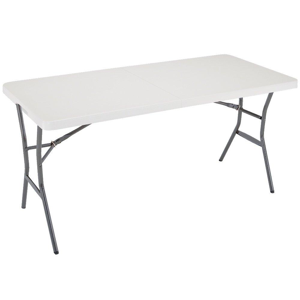 Lifetime 5-Foot Folding Table - Pearl