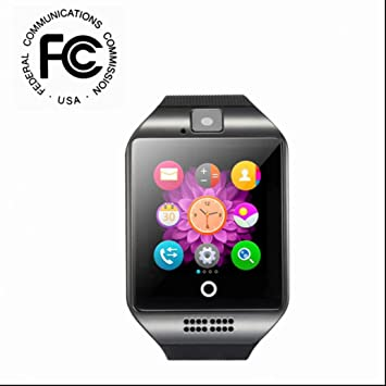 Reloj Inteligente Smartwatch,Monitor de Actividad y Bluetooth,Facebook WhatsApp Sync SMS,Pulseras Actividad,Notificación de Mensaje,Pódometro,Monitor de ...