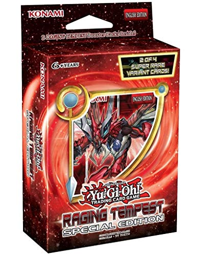 Yugioh Raging Tempest SE Special Edition MINI Booster Box - 3 packs (Best Yugioh Booster Packs)