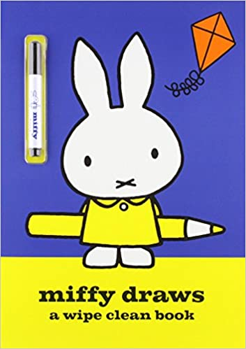 Miffy Draws: Wipe Clean Activity Book: Amazon.co.uk: Simon ...