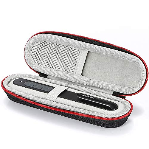Hard Travel case for Doosl/Restar/Inateck/DinoFire/Zoweetek Wireless Presenter RF 2.4GHz Powerpoint Clicker Presentation Remote Control Pen - Black
